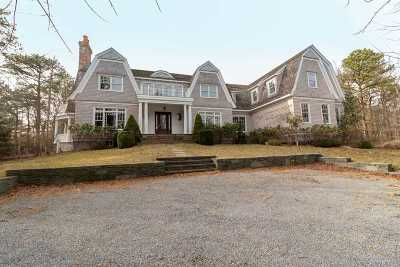 Water Mill Single Family Home For Sale: 244 Little Noyac Path