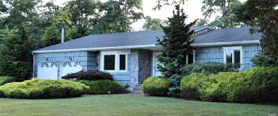 Remsenburg Single Family Home For Sale: 15 Felix Ave