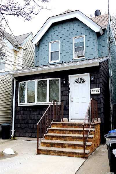 Woodhaven Single Family Home For Sale: 91-16 91st St