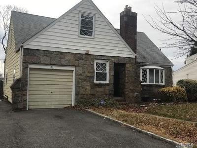 Williston Park Single Family Home For Sale: 221 Lafayette St