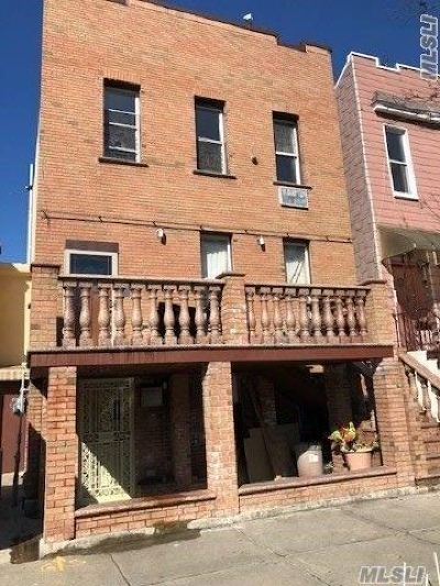 Ridgewood Multi Family Home For Sale: 18-03 Decatur St