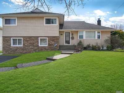 N. Massapequa Single Family Home For Sale: 138 Hunter Ridge Rd