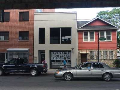 Woodside Commercial For Sale: 67-21 Roosevelt Avenue