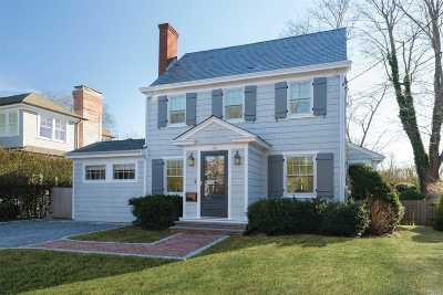Southampton NY Single Family Home For Sale: $1,995,000