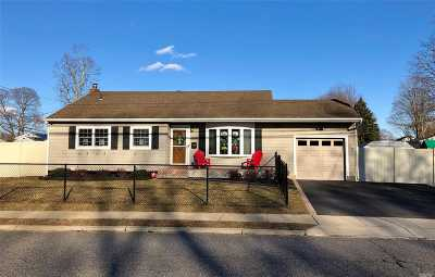 Sayville Single Family Home For Sale: 257 Johnson Ave
