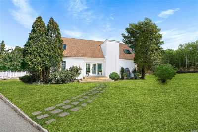 Westhampton Single Family Home For Sale: 16 A Montauk Hwy