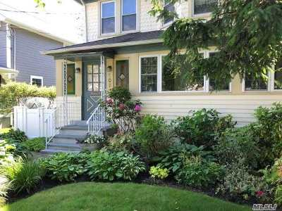 Rockville Centre Single Family Home For Sale: 105 Powell Ave