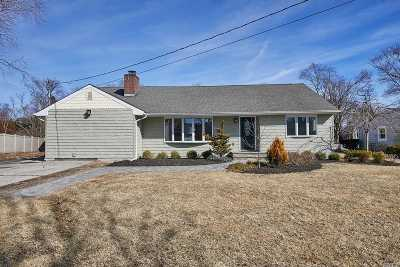Amityville Single Family Home For Sale: 48 Swartout Pl