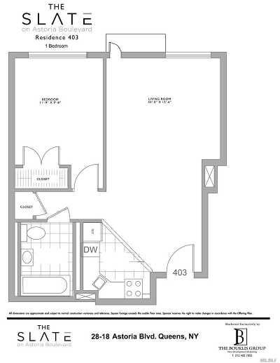 Astoria Condo/Townhouse For Sale: 28-20 Astoria Blvd #403