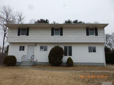 Centereach Single Family Home For Sale: 19 Garden Ln