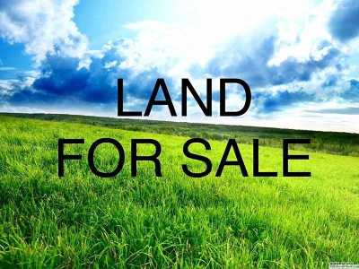Coram Residential Lots & Land For Sale: Coram Yaphank Rd