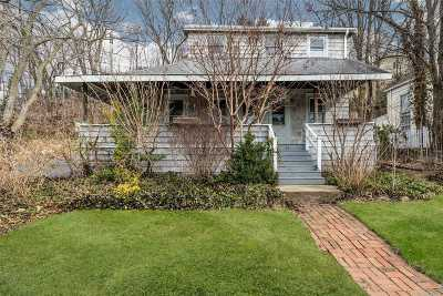 Roslyn Single Family Home For Sale: 31 East Broadway