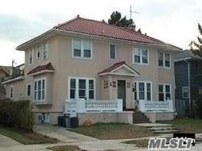 Island Park, Long Beach, Lynbrook, Oceanside, Rockville Centre Multi Family Home For Sale: 242 E Beech St