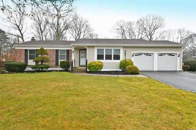 Farmingville Single Family Home For Sale: 2 Walnut Ave