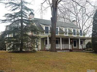 Dix Hills Single Family Home For Sale: 16 Hunting Hollow Ct