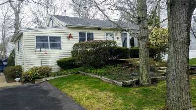 Hampton Bays Single Family Home For Sale: 3 Hudson St