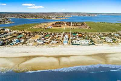 Quogue Single Family Home For Sale: 186 &189 Dune Rd