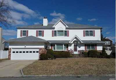 Massapequa Single Family Home For Sale: 9 Bellaire Rd