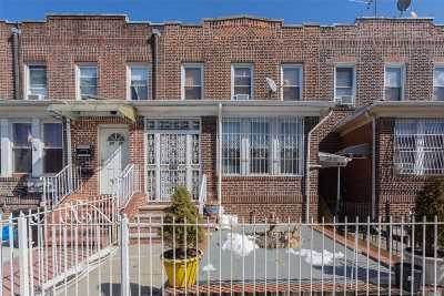 Woodside Single Family Home For Sale: 34-41 64th Street