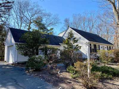 Cutchogue Single Family Home For Sale: 1400 Wunneweta Rd