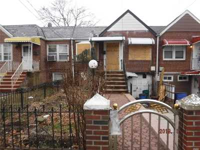 Queens County Single Family Home For Sale: 115-20 217th St