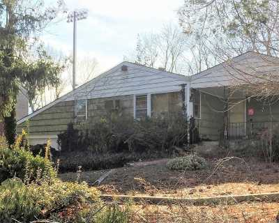 Centereach Single Family Home For Sale: 238 Tree Rd