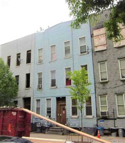 Brooklyn Multi Family Home For Sale: 316 Troutman St