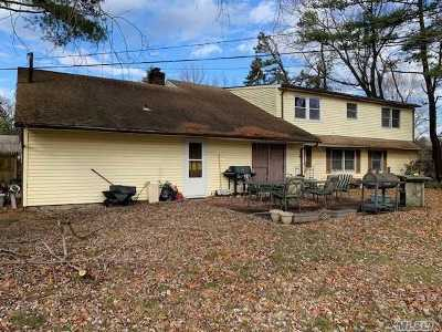 Coram Single Family Home For Sale: 652 Hawkins Rd