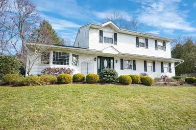 Setauket Single Family Home For Sale: 17 Stony Wood Rd