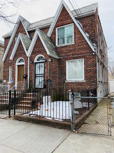 Ozone Park Multi Family Home For Sale: 120-84 131st St