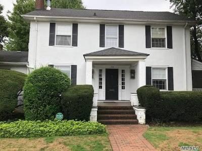Cedarhurst Single Family Home For Sale: 335 Roselle Ave