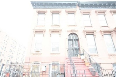 Brooklyn Multi Family Home For Sale: 115 Marcus Garvey Blvd