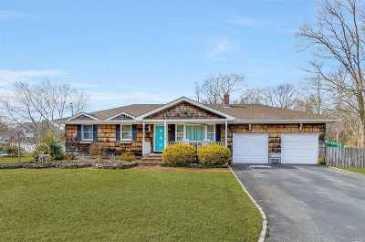 Center Moriches Single Family Home For Sale: 2 Orchard Creek Dr