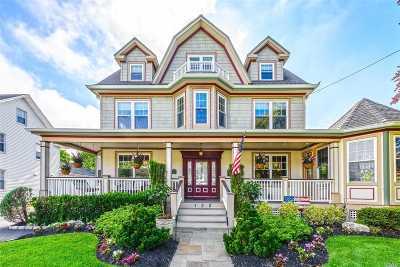 Rockville Centre Single Family Home For Sale: 132 Windsor Ave