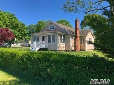 Center Moriches Single Family Home For Sale: 122 Frowein Rd