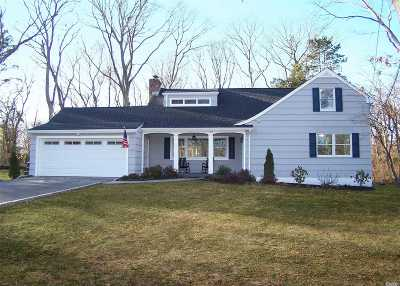 Setauket Single Family Home For Sale: 128 Quaker Path