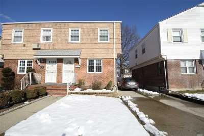 Fresh Meadows Single Family Home For Sale: 61-27 182nd St