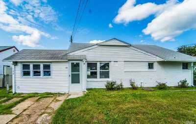 Hicksville Single Family Home For Sale: 142 4th St