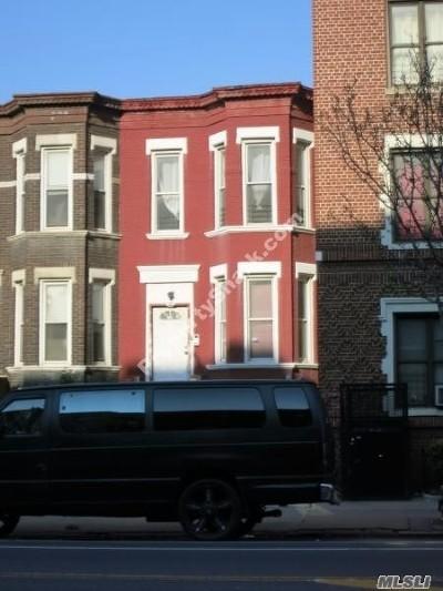 Brooklyn Multi Family Home For Sale: 287 Empire Blvd