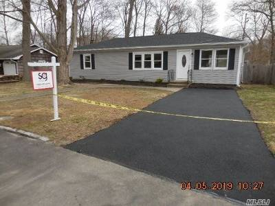 Middle Island Single Family Home For Sale: 7 White Oak St