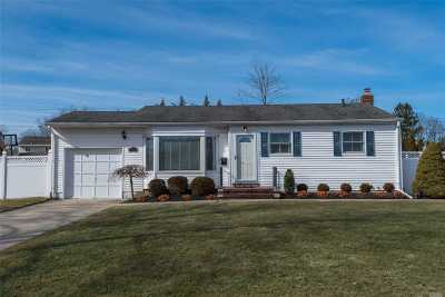 Commack Single Family Home For Sale: 56 Montrose Dr