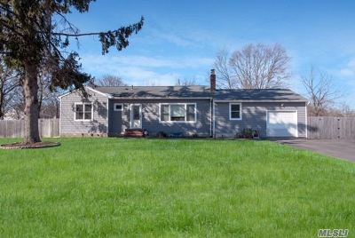 Ronkonkoma Single Family Home For Sale: 727 Third St