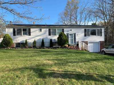 Coram Single Family Home For Sale: 83 Whiskey Rd