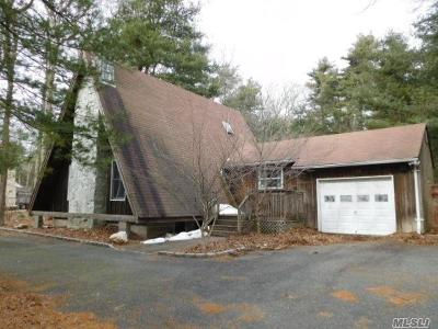 Middle Island Single Family Home For Sale: 25 Longwood Rd