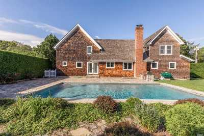 Southampton NY Single Family Home For Sale: $2,990,000