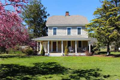 Bayport Single Family Home For Sale: 10 The Lane