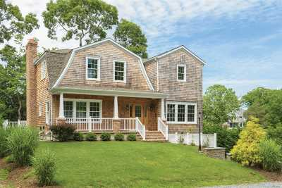 Sag Harbor Single Family Home For Sale: 7 Helens Ln