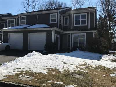 Commack Condo/Townhouse For Sale: 5 Madder Lake Cir