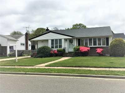 Hicksville Single Family Home For Sale: 54 Lehigh Ln