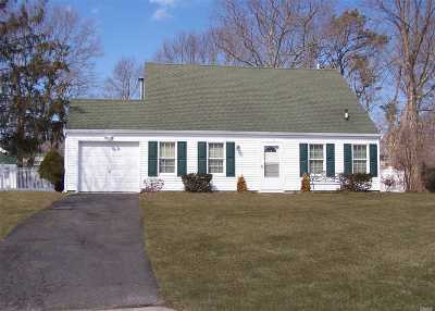 Middle Island Single Family Home For Sale: 9 Herdman Ct
